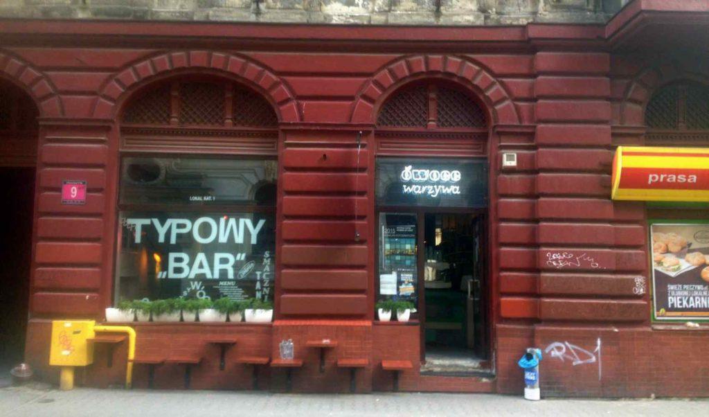 Owoce i warzywa, czyli typowy bar w Łodzi