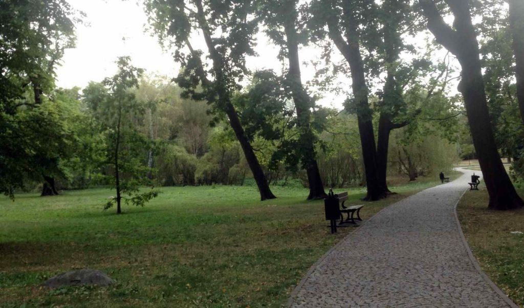 Alejki parku Żródliska II